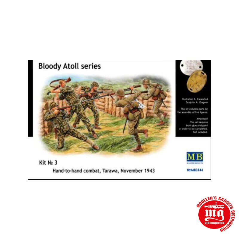 BLOODY ATOLL SERIES KIT 3 HAND TO HAND TARAWA NOVEMBER 1943 MASTR BOX MB3544