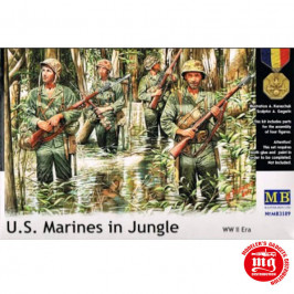 US  MARINES IN JUNGLE MASTER BOX MB3589