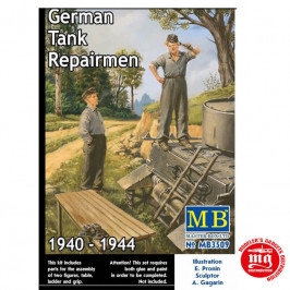 GERMAN TANK REPAIRMEN 1940-1944 MASTER BOX MB3509
