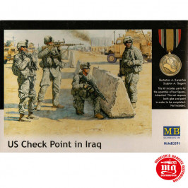 US CHECK POINT IN IRAQ MASTER BOX MB3591