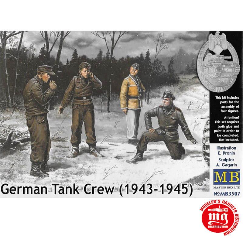 GERMAN TANK CREW 1943-1945 MASTER BOX MB3507