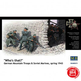 WHO IS THAT? GERMAN MOUNTAIN TROOPS AND SOVIET MARINES SPRING 1943 MASTER BOX MB3571