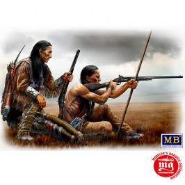 REMOTE SHOT INDIAN WARS SERIES MASTER BOX MB35128