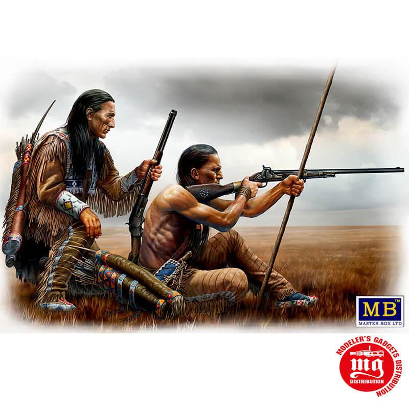 REMOTE SHOT INDIAN WARS SERIES MASTER BOX MB35128
