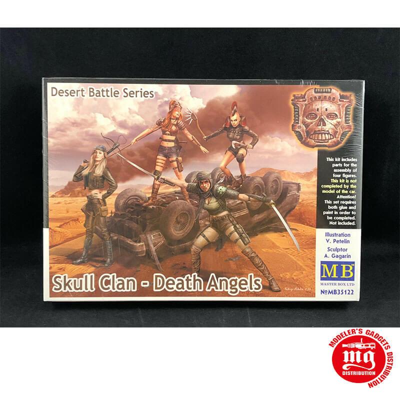 SKULL CLAN DEATH ANGELS DESERT BATTLE SERIES MASTER BOX MB35122