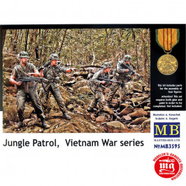 JUNGLE PATROL VIETNAM WAR SERIES MASTER BOX MB3595