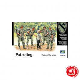 PATROLING VIETNAM WAR SERIES MASTER BOX MB3599