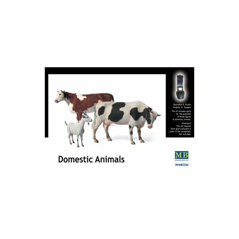 DOMESTIC ANIMALS MASTER BOX MB3566