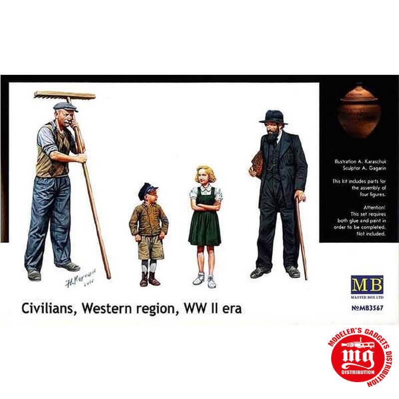 CIVILIANS WESTERN REGION WWII MASTER BOX MB3567