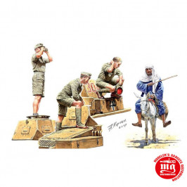 AFRIKAKORPS GERMAN TANKMAN MASTER BOX MB3559