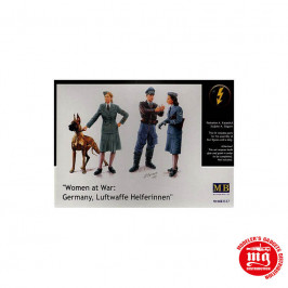 WOMEN AT WAR GERMANY LUFTWAFFE HELFERINNEN MASTER BOX MB3557