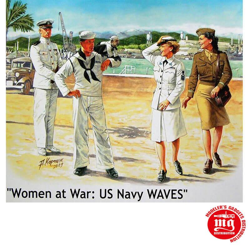 WOMEN AT WAR US NAVY WAVES MASTER BOX MB3556