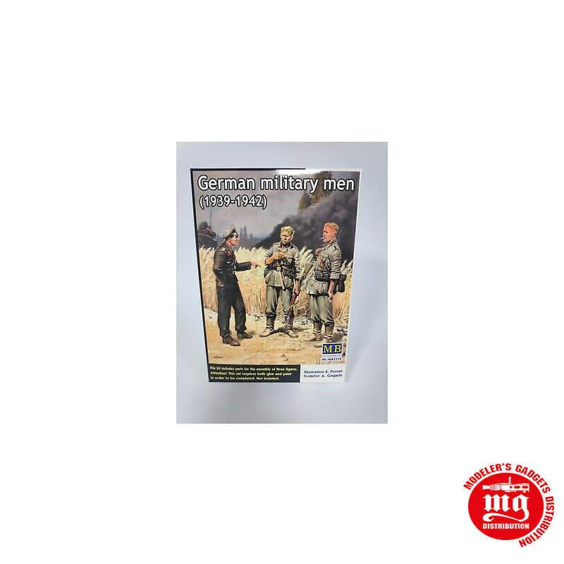 GERMAN MILITARY MEN 1939-1942 MASTER BOX MB3510