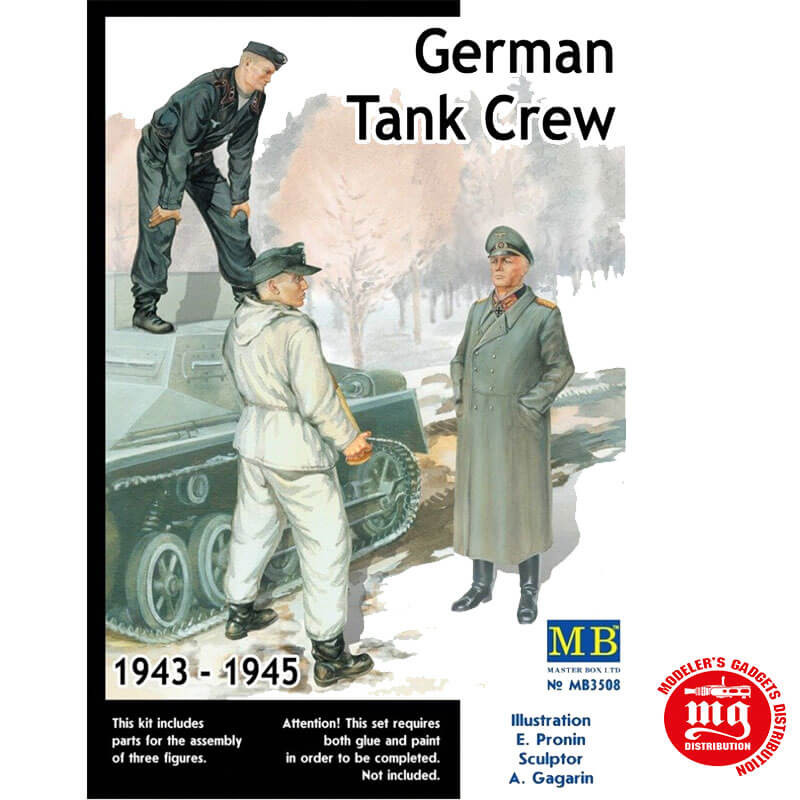 GERMAN TANK CREW 1943-1945 KIT 2 MASTER BOX MB3508