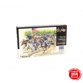 US CIVIL WAR 8th PENNSYLVANIA CALVARY BATTLE OF CHANCELLORSVILLE MASTER BOX MB3550