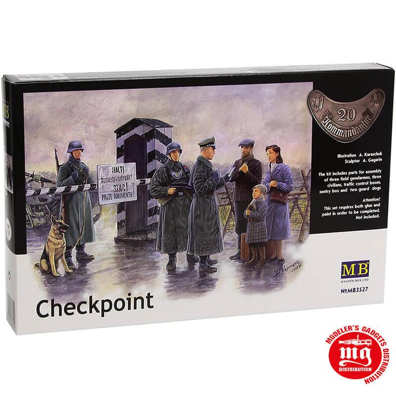 CHECKPOINT MASTER BOX MB3527