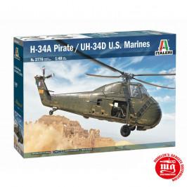 H-34A PIRATE/UH-34H US MARINES ITALERI 2776