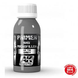 PRIMER AND MICROFILLER GREY AK758