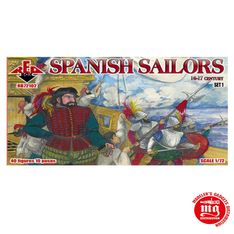SPANISH SAILORS RED BOX RB72102