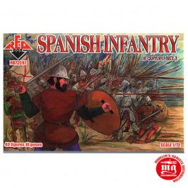 SPANISH INFANTRY RED BOX RB72097
