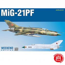 MIG-21PF EDUARD 7455