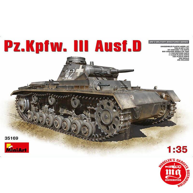Pz.Kpfw.III AUSF.D MINIART 35169