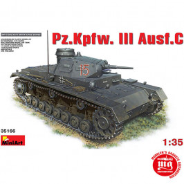 Pz.Kpfw.III AUSF.C MINIART 35166