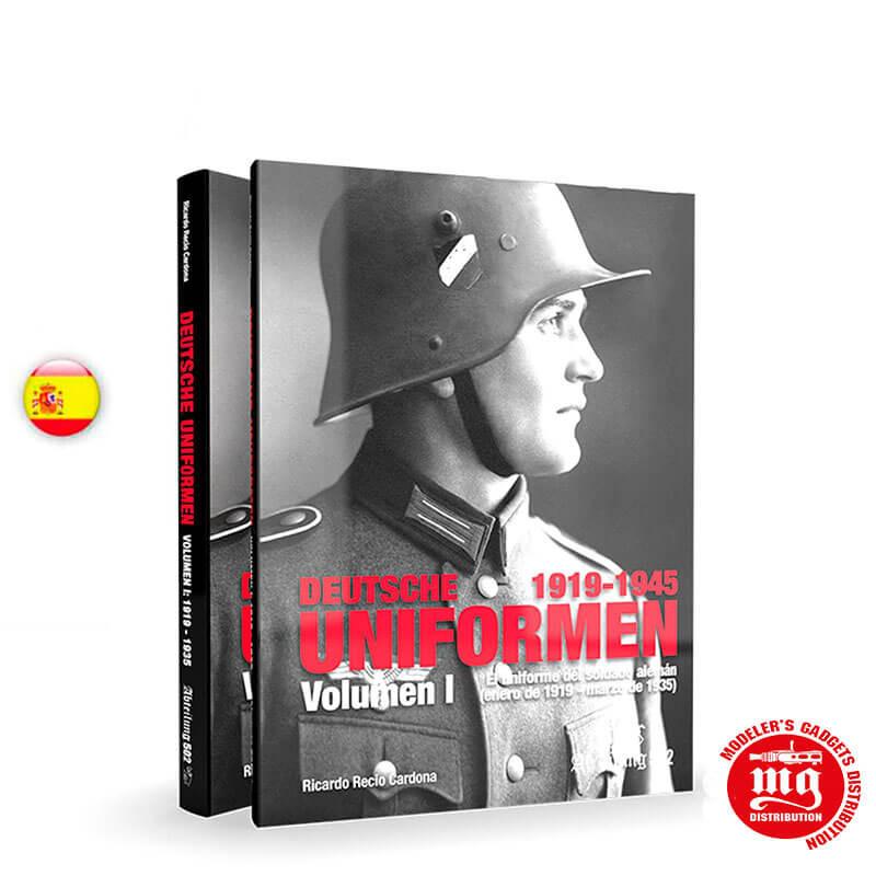 EL UNIFORME DEL SOLDADO ALEMAN VOLUMEN I ENERO DE 1919-MARZO DE 1935 ABT731