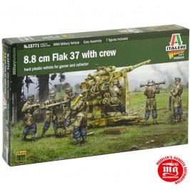 8.8 cm FLAK 37 WITH CREW ITALERI 15771