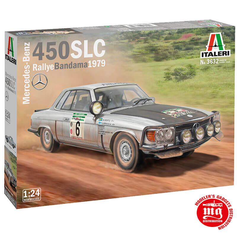 MERCEDES BENZ 450 SLC RALLYE BANDAMA 1979 ITALERI 3632