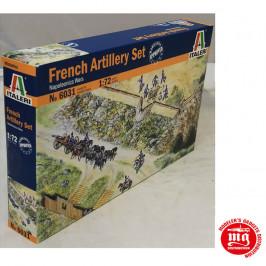 NAPOLEONICS WARS FRENCH ARTILLERY SET ITALERI 6031