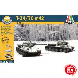T-34/76 m42 ITALERI 7523