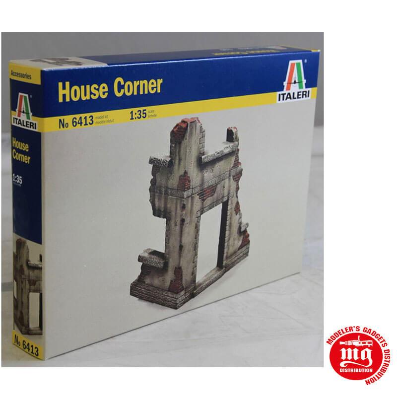 HOUSE CORNER ITALERI 6413