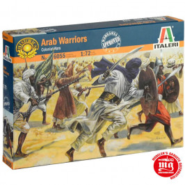 ARAB WARRIORS COLONIAL WARS ITALERI 6055