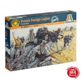 FRENCH FOREIGN LEGION COLONIAL WARS ITALERI 6054