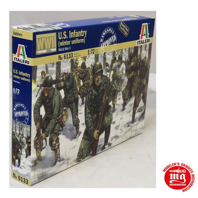 US INFANTRY WINTER UNIFORM WORLD WAR II ITALERI 6133