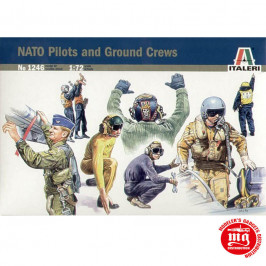 NATO PILOTS AND GROUND CREW ITALERI 1246