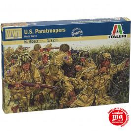 US PARATROOPERS WORLD WAR II ITALERI 6063