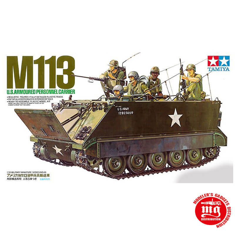M113 US ARMOURED PERSONNEL CARRIER TAMIYA 35040