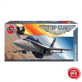 TOP GUN MAVERICK F/A-18 HORNET AIRFIX A00504