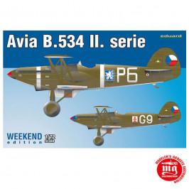 AVIA B.534 II.serie EDUARD 7448
