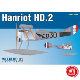 HANRIOT HD.2 FLOATPLANE EDUARD 8413