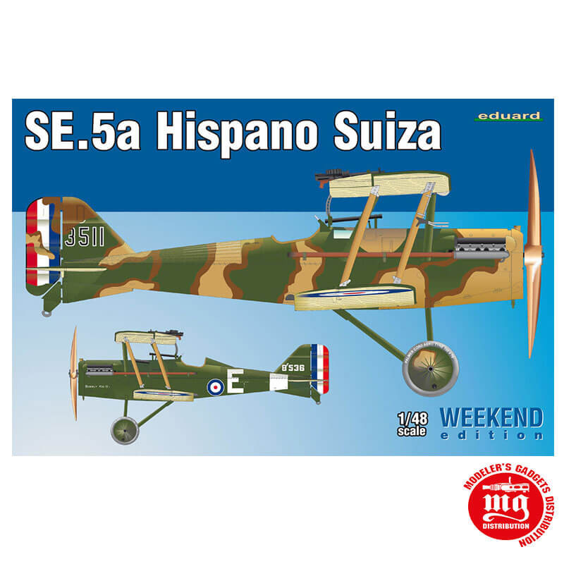 SE.5a HISPANO SUIZA EDUARD 8453