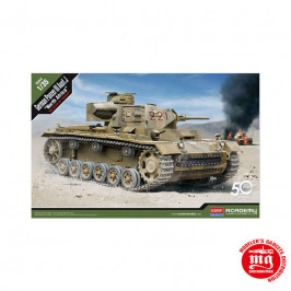 PANZER III Ausf.J NORTH AFRIKA ACADEMY 13531