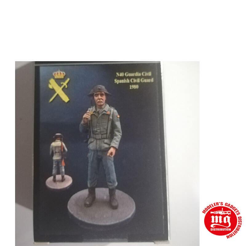 GUARDIA CIVIL 1980 SERVICIO RURAL NIMIX N40