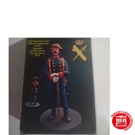 FIGURA GUARDIA CIVIL GALA EN FORMACION 1975 NIMIX N81