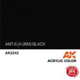 AMT-6 A-26m BLACK AK2243