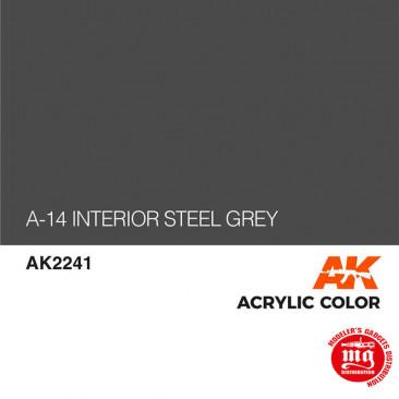 A-14 INTERIOR STEEL GREY AK2241