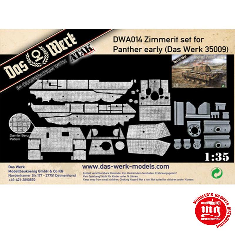 ZIMMERIT SET FOR PANTHER EARLY DAS WERK 35009 DWA014