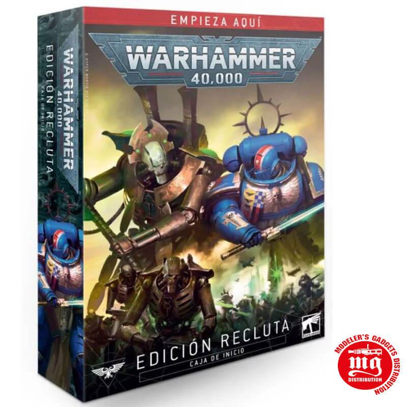 WARHAMMER 40000 EDICION RECLUTA CAJA DE INICIO GAMES WORKSHOP 40-04